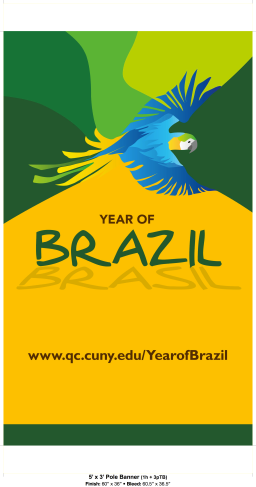 Ano do Brasil na Queens College | Year of Brazil at Queens College